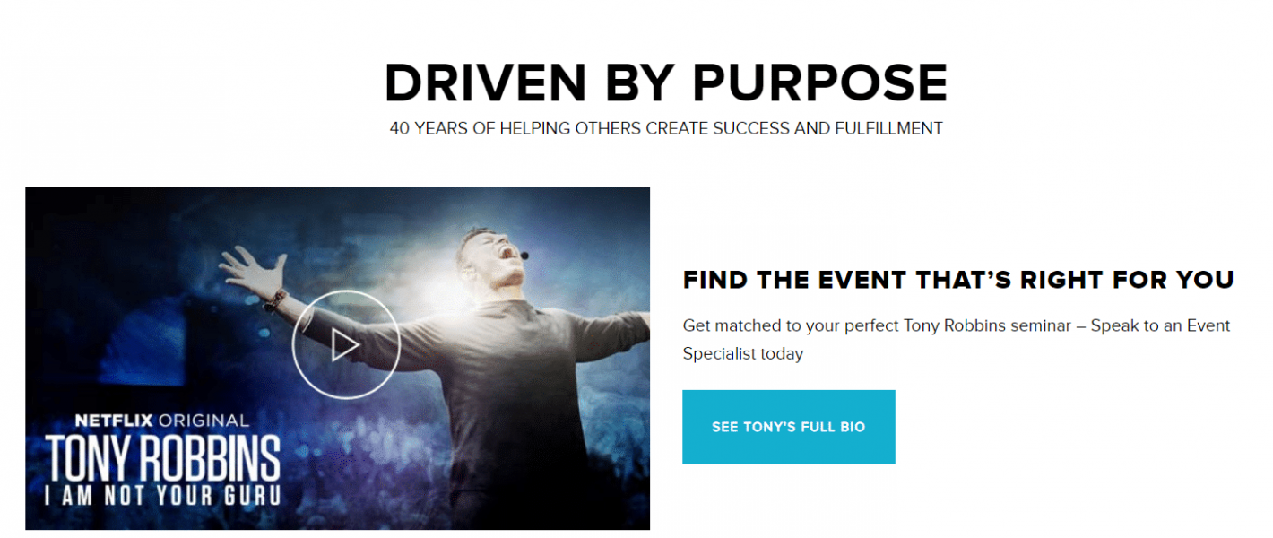 Tony Robbins NLP geheimen